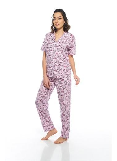 Estiva Pijama Takım Mor